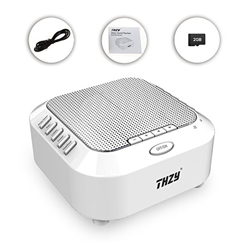 Better Sleep White Noise Sound Machine For Adults And: White Noise Machine,THZY Portable Sleep Sound Machine With