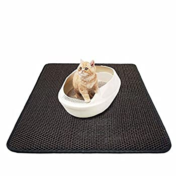 Tapis pour Bac à Litière et Double-couche pour Chat , 50 x 68 cm