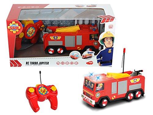 RC Auto kaufen Feuerwehr Bild 5: Dickie Toys 203099612 - RC Feuerwehrmann Sam Jupiter, funkferngesteuertes Feuerwehrauto, 22 cm*