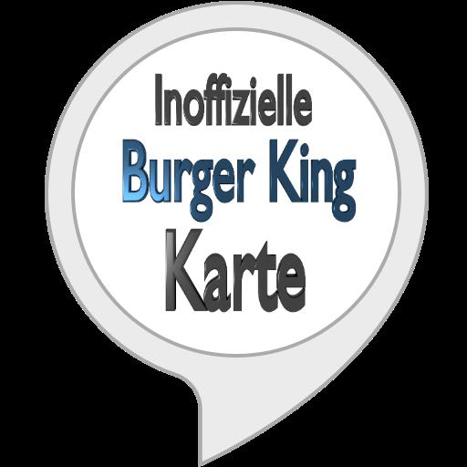 Inoffizielle Burger King Karte -