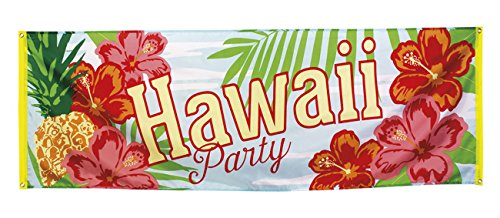 BOLAND 52481Banner Hawaii Party