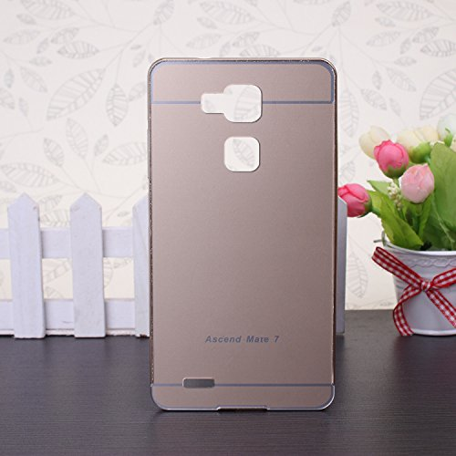 EKINHUI Huawei Mate 7 custodia; Di lusso di alluminio del