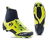 Northwave Raptor GTX Winter MTB Fahrrad Schuhe gelb/schwarz 2019: Größe: 45
