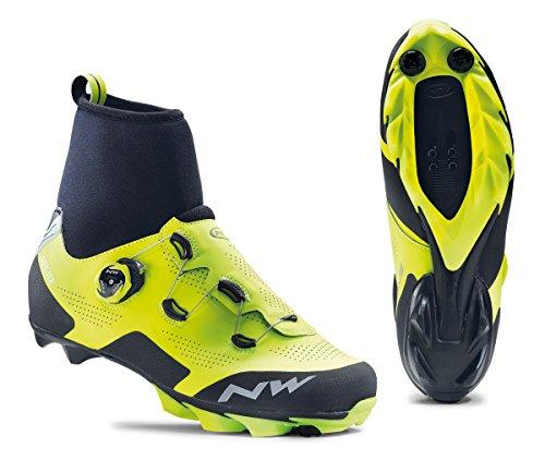 Northwave Raptor GTX Winter MTB Fahrrad Schuhe gelb/schwarz 2020: Größe: 49