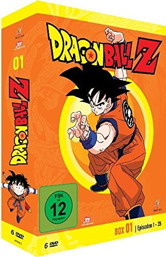 Dragonball Z - Box 1/10 (Episoden 1-35) [6 DVDs] (Anime-filme-set)
