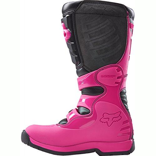 FOX 2016 Motocross/ Enduro Stiefel COMP 5 Frauen – schwarz-pink: Größe Stiefel: 40 EU / 8 US - 3