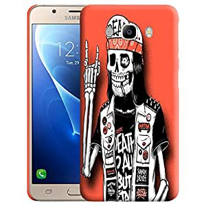 Theskinmantra Skeleton Swag Back cover for Samsung Galaxy J5 (2016 Edition)