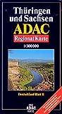 ADAC Karte, Thüringen und Sachsen -