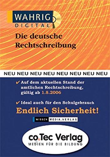 WAHRIG digital Die deutsche Rechtschreibung 2006, 1 CD-ROM