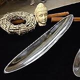 VOSS Dekoschale oval poliert Silber 54 cm Aluminiumschale