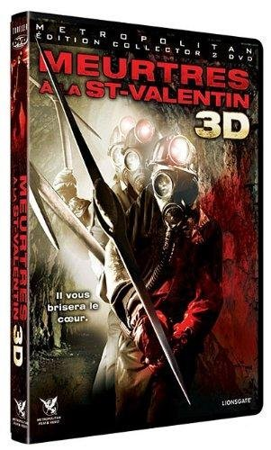 Meurtres à la st valentin - édition collector 2D + 3D [Édition Collector - Version 3-D]