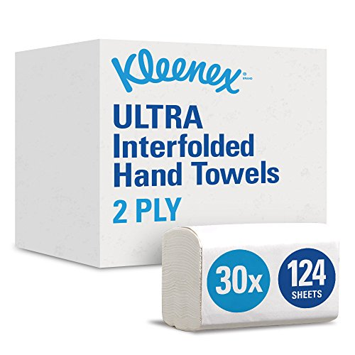 KLEENEX* ULTRA Interfolded Hand Towels 7979  -  Pack of 5, 5 x 124,  620 Towels