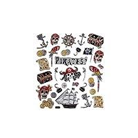 Fancy Stickers, sheet 15x16,5 cm, Pirates, 1 sheet