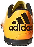 adidas Herren X 15.4 TF Fußballschuhe, Orange (Solar Gold/Core Black/Shock Pink), 45 1/3 EU -