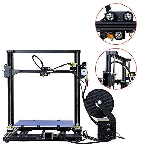 Comgrow Creality 3D Drucker CR-10 S4 Prusa i3 mit Dual Z Stab Schrauben 400x400x400mm - 4