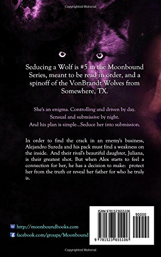 Seducing a Wolf: Volume 5 (Moonbound)