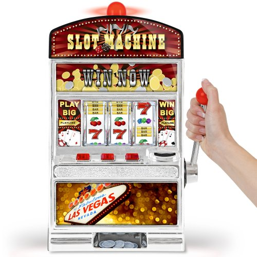GreatGadgets 1890 Casino Slot Machine - Einarmiger Bandit (38 cm)