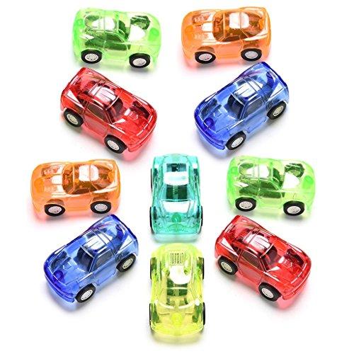 Dabixx Auto-Spielzeug, 10 Teile/Satz ziehen Auto niedlichen spielzeugautos für Kind Kinder pädagogisches Geschenk - Farbe zufällig