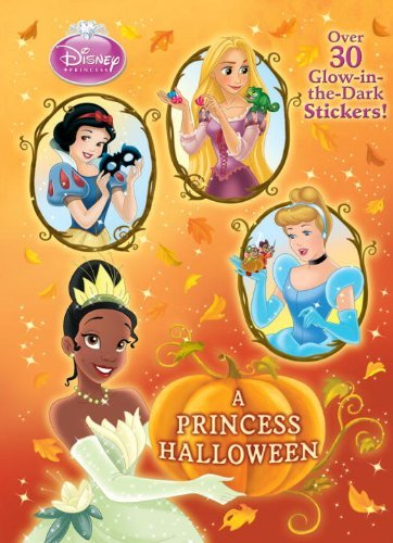 (Disney Princess) (Glow-in-the-Dark Sticker Book) by Andrea Posner-Sanchez (2011-07-12) (Dark Princess Disney)