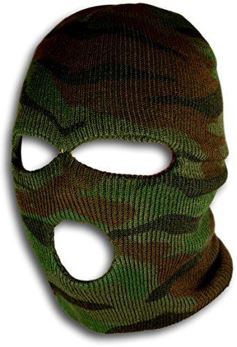 Woodland Camo Ski Maske–Camouflage Gear von Bogo - 2017 Disfraces Halloween Ideen