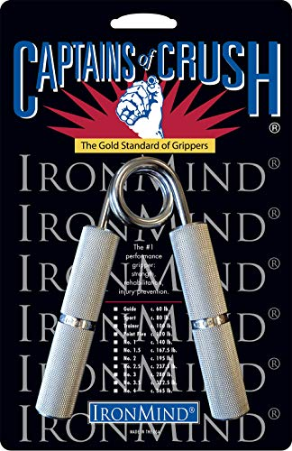 USA - IronMind Captains of Crush Grippers CoC No. 1.5 c. 167.5 lb 76kg
