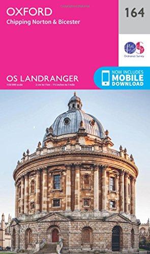 landranger-164-oxford-chipping-norton-bicester-os-landranger-map