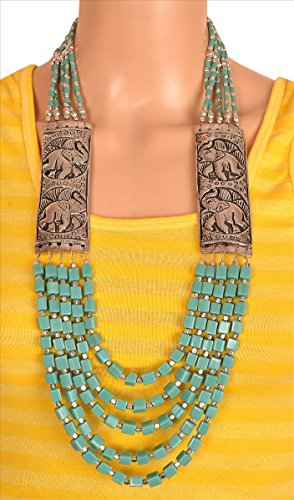 zephyrr fashion handmade tibetan style necklace for women with beads Zephyrr Fashion Handmade Tibetan Style Necklace for Women with Beads 51c 2BHQKxTfL