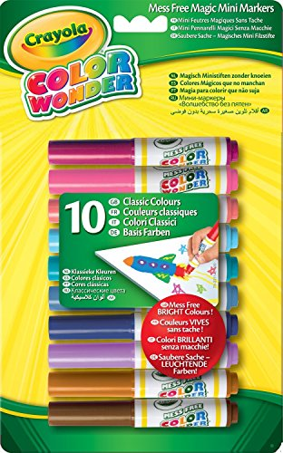 Crayola Color Wonder 75-2211-E-000 Mini-Filzstifte, (Kleid Crayola)
