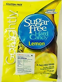 Golightly Lemon Sweetened with Splenda Hard Candies 78 gm Free ChocoKick Eco Friendly Pen