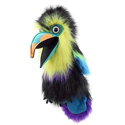 Große Vögel - Tukan (mit grünem Schnabel) ()