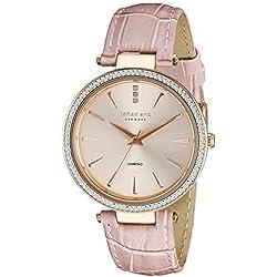 Johan Eric Women's JE-F1000-09-009 Fredericia Analog Display Quartz Pink Watch
