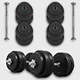 20KG 30KG 40KG 50kg Dumbbell Set Vinyl Gym - Best Reviews Guide