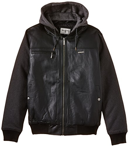 Billabong, Giacca Uomo Futur Proof Classic, Nero (Black), S