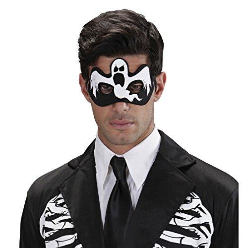 Amakando Augenmaske Halloweenmaske Gespenst Gesichtsmaske Vampir Gruselige Domino -