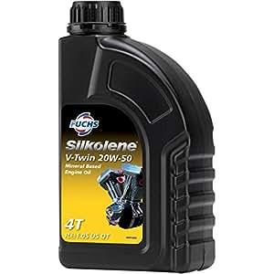 Silkolene - Huile moteur V-TWIN 20W50 1 litre