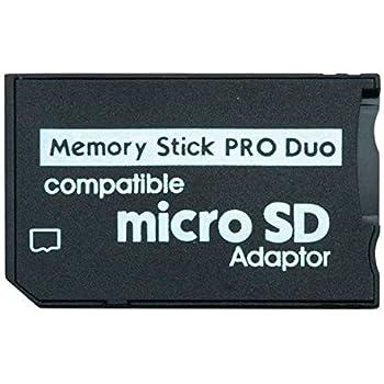 CABLEPELADO Adaptador de Tarjeta Micro SD a Memory Stick Negro