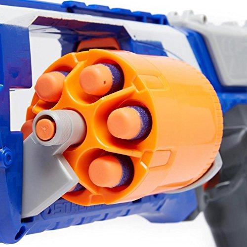 Preisvergleich Produktbild NERF N-Strike Elite Strongarm Blaster, Blau, Einheitsgröße