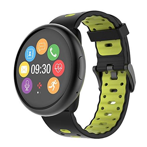 MyKronoz Smartwatch zeround 2HR Premium Nero e Giallo
