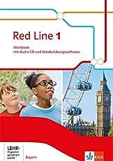 Red Line 1. Ausgabe Bayern: Workbook mit Audio-CD und Vokabelübungssoftware Klasse 5 (Red Line. Ausgabe für Bayern ab 2017)