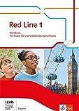 Red Line / Ausgabe für Bayern ab 2017: Red Line / Workbook mit Audio-CD und Vokabelübungssoftware 1: Ausgabe für Bayern ab 2017 - Frank Haß