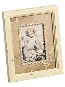 Portraitrahmen Angel, 9x13 cm, beige