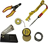 #5: Shopee 6 In1 Electric Soldering Iron Stand Tool Wire Stripper Starter Tool Kit 25 Watt