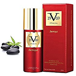 Versace 19.69 Italia Electrique Perfume Spray with Premium Spicy & Sizzling fragrance for Desirable men, 150ml