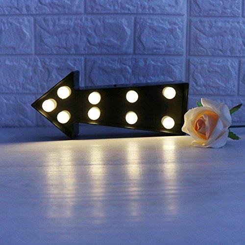 Missley Los LED indican la luz de la noche de la flecha Los pequeños de la noche de la luz del bebé para la sala de estar del dormitorio