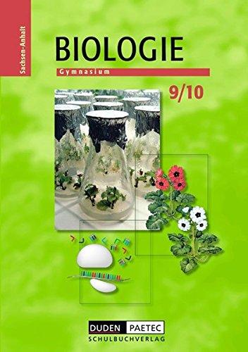Duden Biologie - Gymnasium Sachsen-Anhalt: 9./10. Schuljahr - Schülerbuch