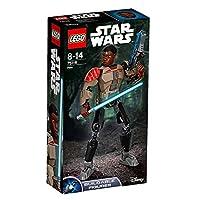 Lego 75116Personaggio di Finn altamente snodabile e costruibile, dotato shooter a molla con munizioni aggiuntive, spada laser e funzione braccio da battaglia attivato tramite ingranaggio. Aziona lo shooter a molla e ricaricalo con le munizion...