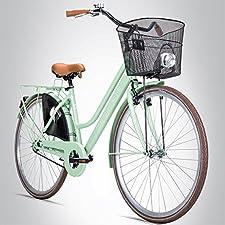 Das modische Citybike für jeden Tag Das Bergsteiger Citybike Amsterdam ist ein modisches Hollandfahrrad in feschem Design. Dank seiner zahlreichen verschiedenen knalligen Farben wird es zum wahren Hingucker in jeder Stadt. Aber auch bei der Lieferung...