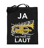 Chorchester Hochwertiger Jutebeutel (mit langen Henkeln) - Ideal für alle Kornett Musiker!