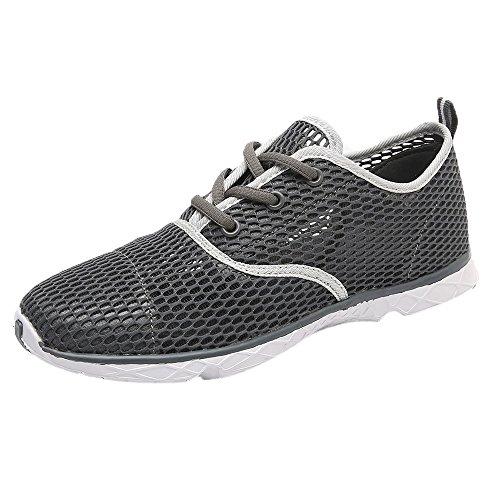 -EU49] ODRD Schuhe Herren Herren Outdoor Atmungsaktiv Schnell Trocknend Sport Wasser Schuhe Hohl Laufschuhe Combat Hallenschuhe Worker Laufschuhe Wanderschuhe Sneakers Sport ()