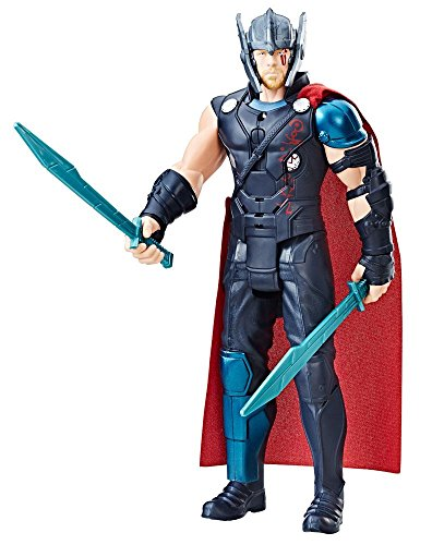 0EW0 Elektronischer Titan Hero Thor, Actionfigur (Age Of Ultron Captain America Kostüm)